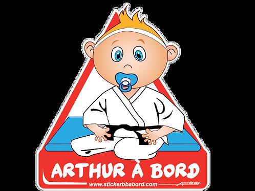 Arthur a bord