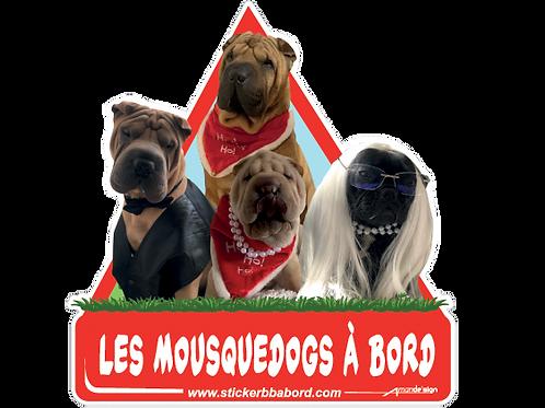 Les Mousquedogs a bord 1