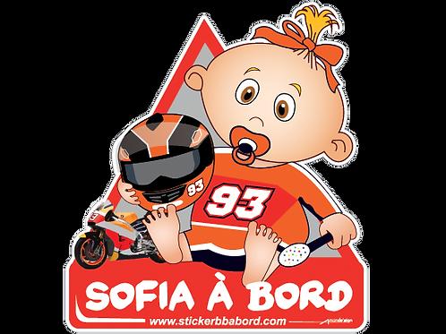 Sofia a bord