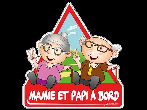 Mamie et Papi à bord