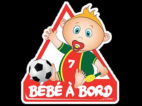 Footballeur garçon