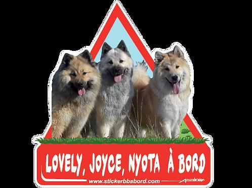 Lovely, Joyce, Nyota a bord