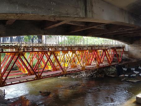 Nova Dutra - Reforço e Recuperação da Ponte sobre o Rio Portinho no km 309+330 (BR-116)