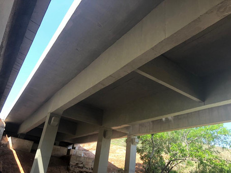 Nova Dutra - Reforço e Recuperação da Ponte sobre o Córrego Sapé no km 035+780 (BR-116)