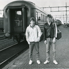 Två SPA-stipendiater 1984