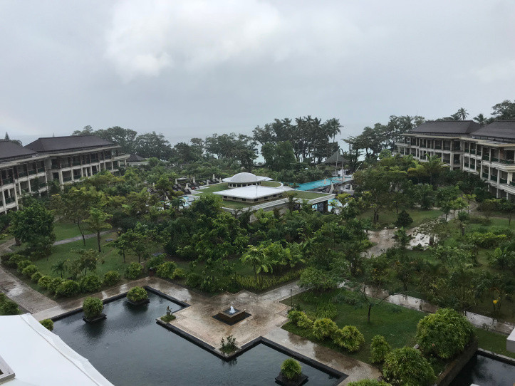 View from the room at Savoy Resort and Spa, Seychelles