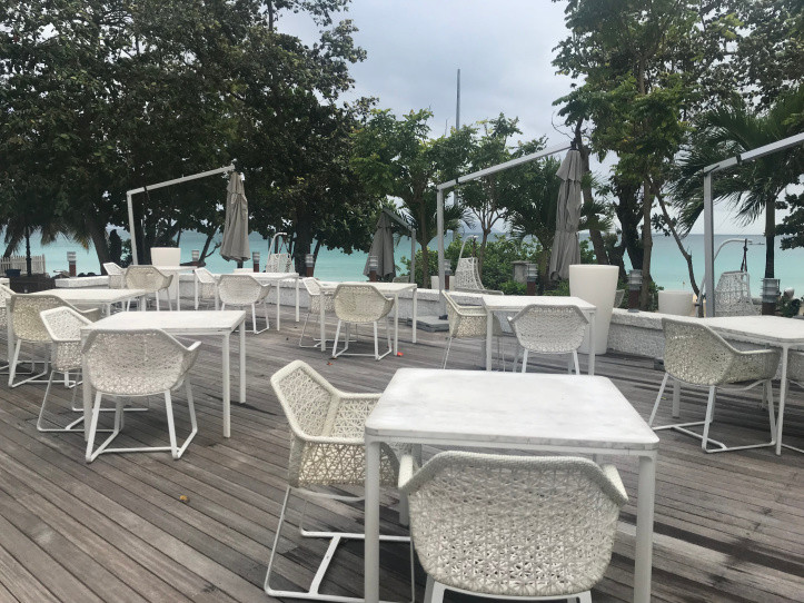 Gecko Bar and Lounge at The Savoy, Seychelles