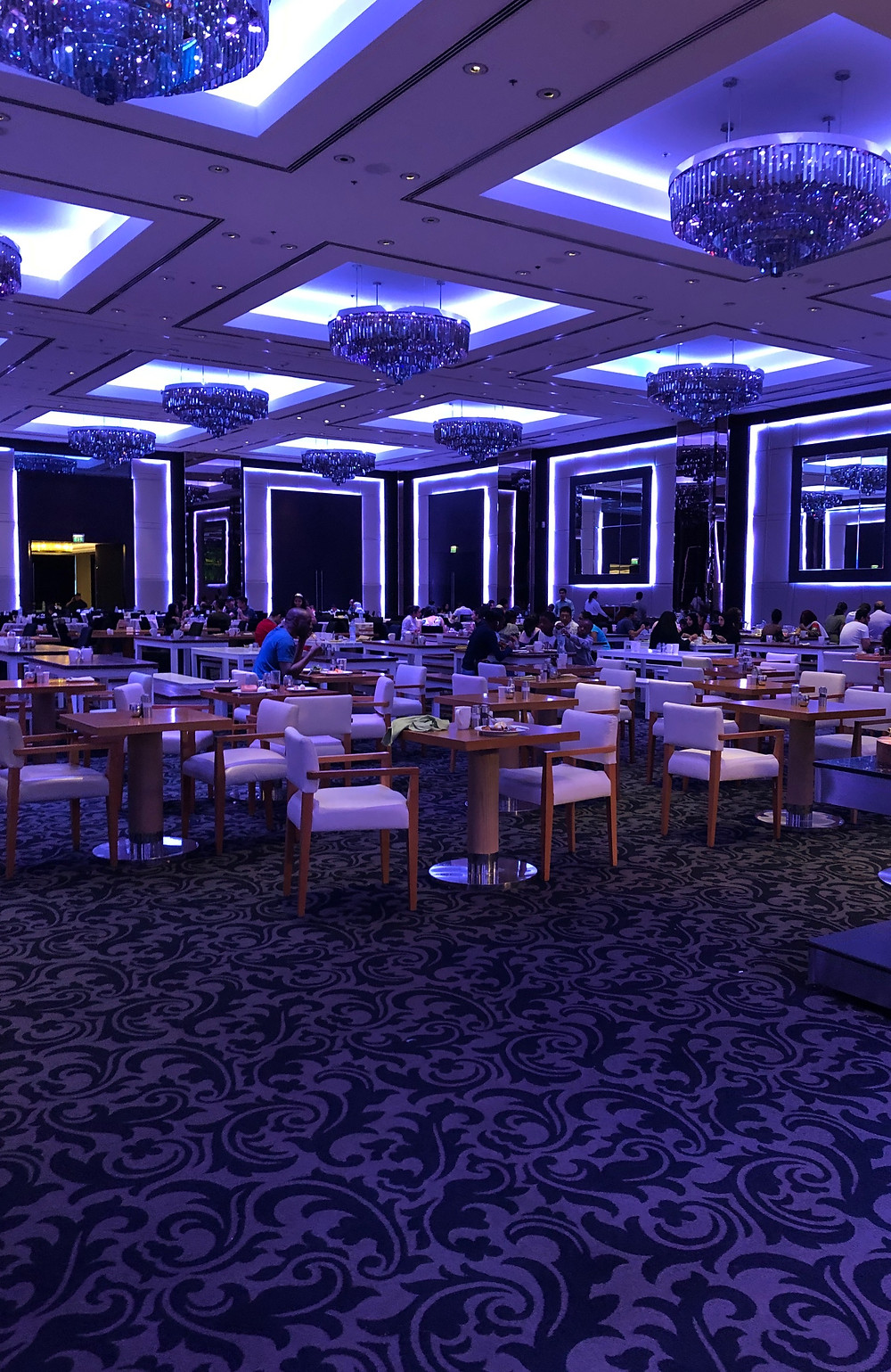Ballroom at J W Marriot Marquis Dubai