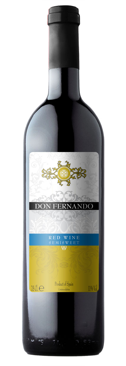 Don Fernando red semisweet
