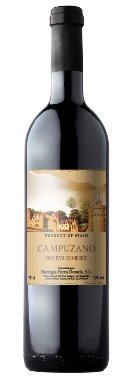 Campuzano red semisweet