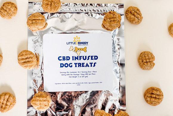 Peanut Butter Infused Dog Treats