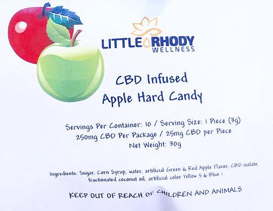 CBD Apple Hard Candy