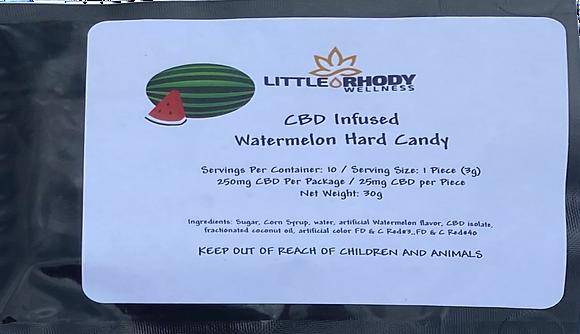 CBD Watermelon Hard Candy