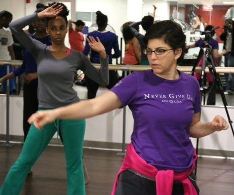 Amy teaching
