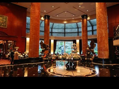 ウェスティンホテル東京でモーニング