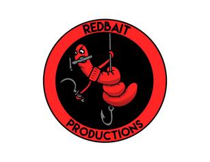 Redbait Productions Sticker Design