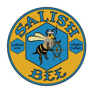 Salish Bee Honey Logo Design
