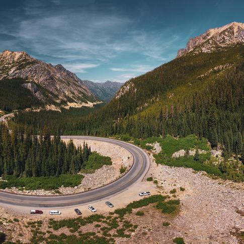 Washington Pass Panorama