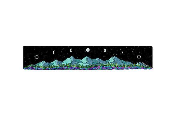 Moon Mountains Sticker 12 inch