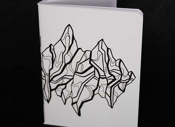 Mountain Lines Notebook