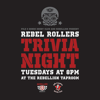 Rebel Rollers Trivia Tuesdays