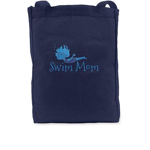 Swim Mom Tote Bag