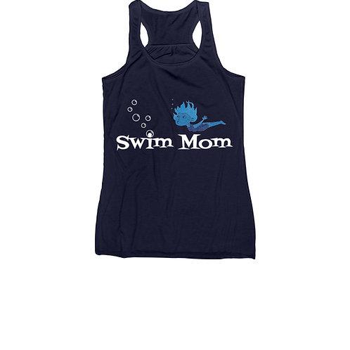 Swim Mom Racerback Tank