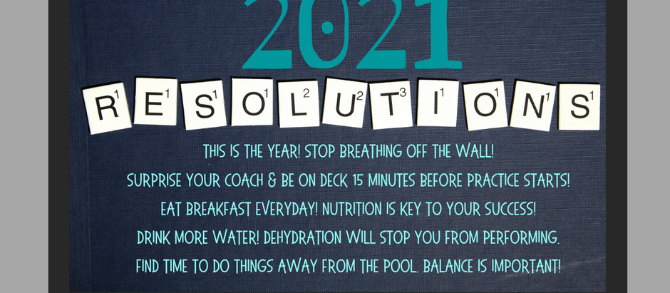 The Swimmist~ January 2021