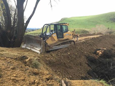 Bulldozing in and Around The Hurunui
