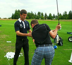 Golf player mentoring