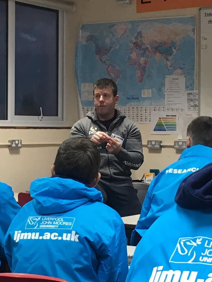 mark bennett presenting 3