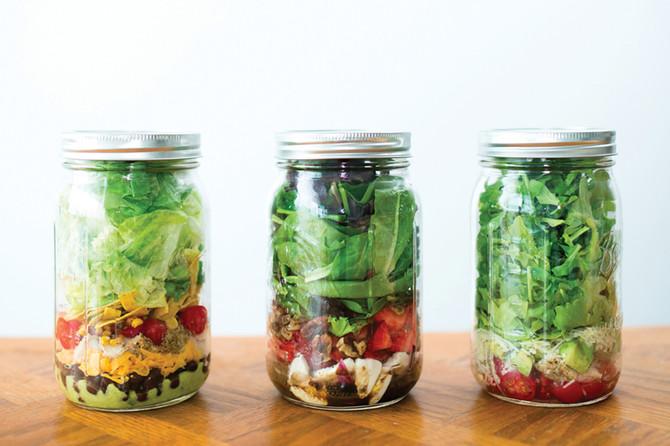 My Favorite Salad in a Jar