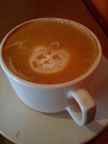 Don't-Wreck-All-Your-Hard-Work Pumpkin Spice Latte