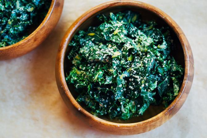 Vegan Caesar Superfood Salad