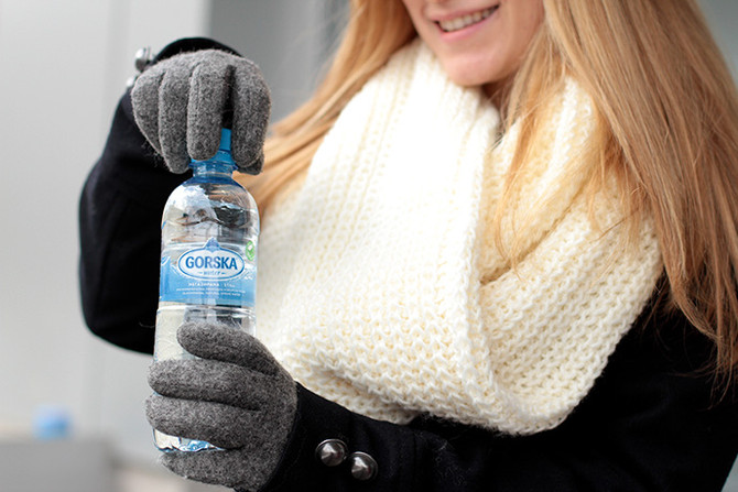 Baby it's Cold Outside!  Ways to Stay Hydrated This Winter
