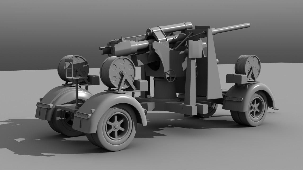 Flak Cannon, back