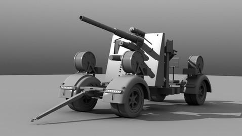 Flak Cannon, front