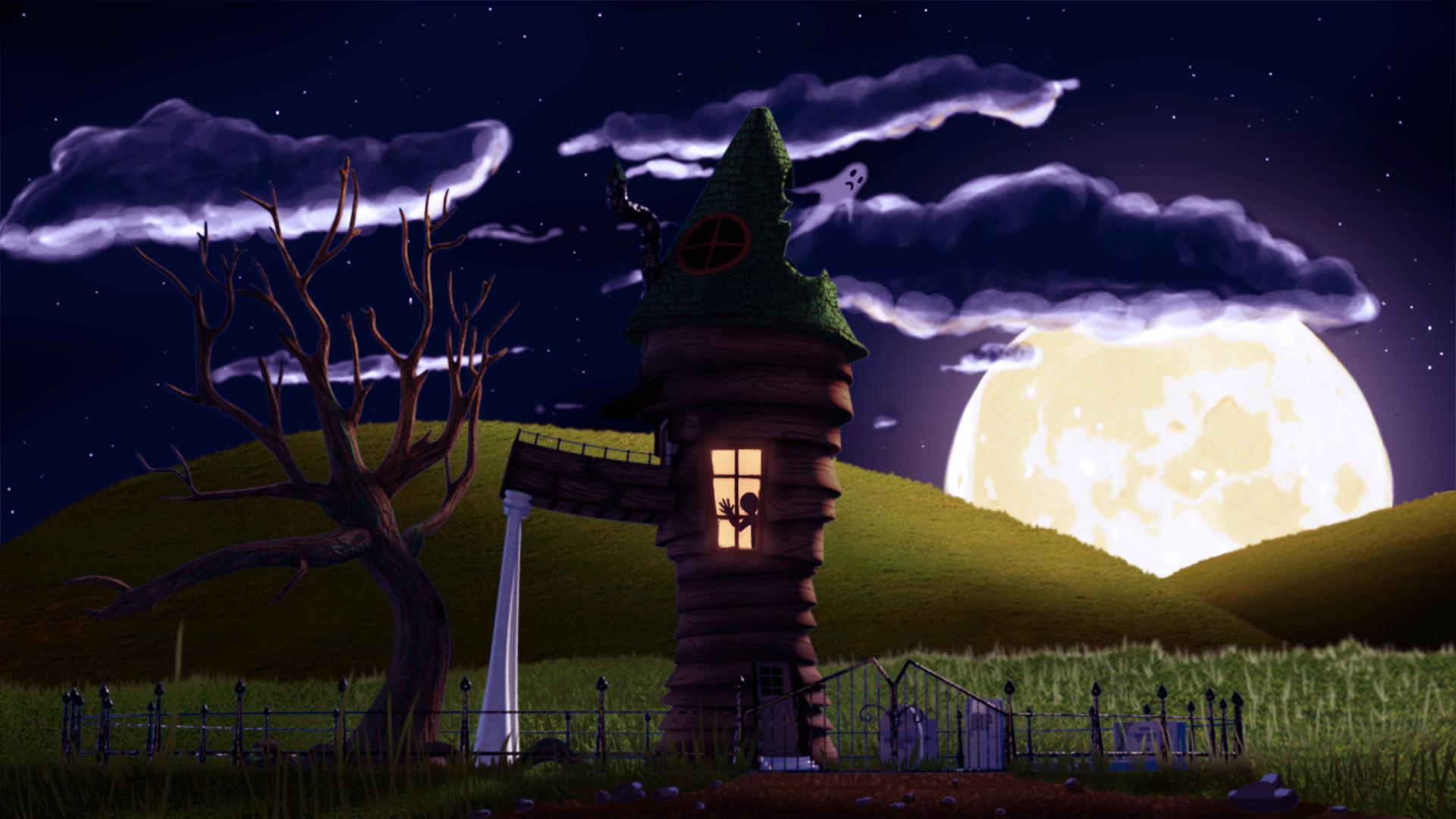 Halloween Scene - Modo Contest 2016