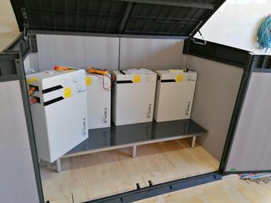 Baterias Triple Power - placas solares - instalaciones   fotovol