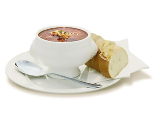 Fischsuppe pikant, 6,00 €