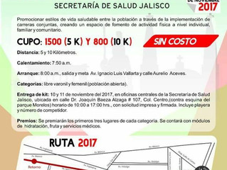 CARRERA RECREATIVA GRATUITA 5K Y 10K