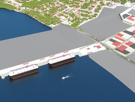 Türkiye'nin en büyük otomotiv limanı Oyak Port'a start verildi