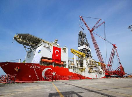 Karadeniz'e açılan Fatih sondaj Gemisi'nin tüm time lapse çekimlerini İKM yaptı
