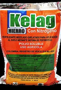Kelag | Hierro con Nitrógeno | Fertilizante mezclado quelatado | Magro S.A