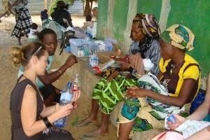 Formula demonstration in Africa