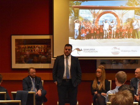 Bringing Remote Education back into the limelight: Bawurra Foundation at Parliament House, Sydney