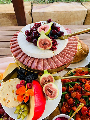 Salami and cheese food image