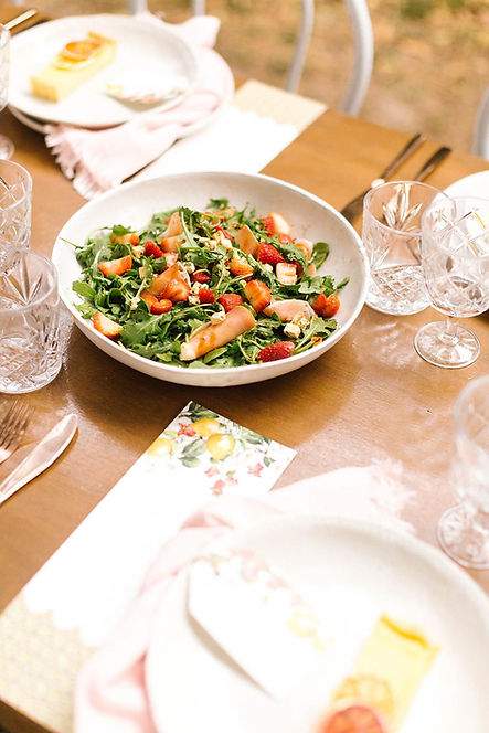 Summer salad - conk and co image