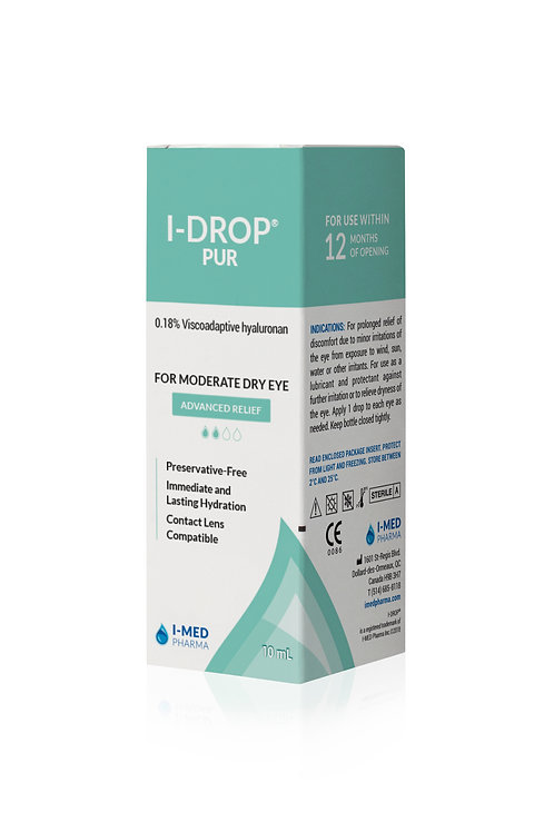 I-DROP® PUR - Advanced Relief
