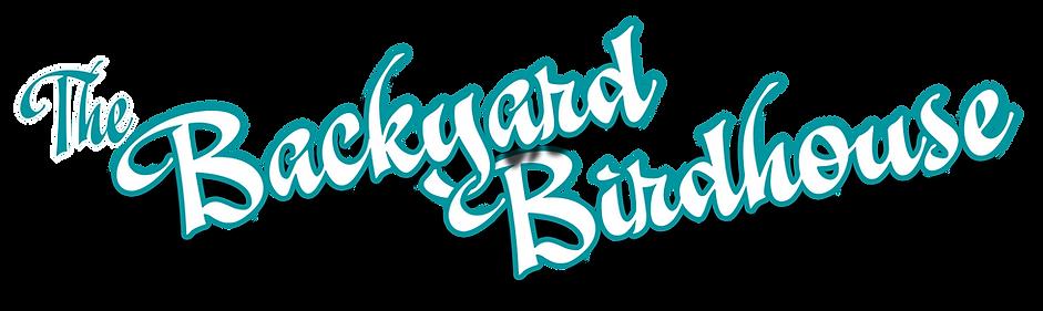 Backyard Birdhouse Title